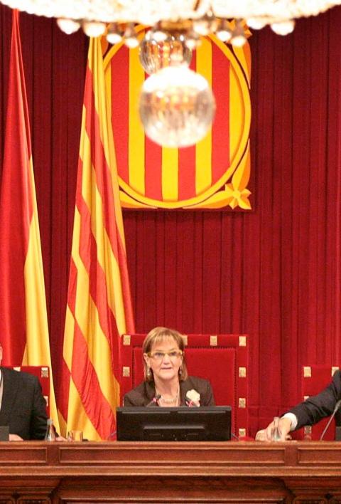 Foto: Parlamento Catalán